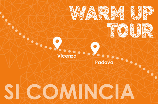 Inizia il WARM-UP Tour di IVS DATA